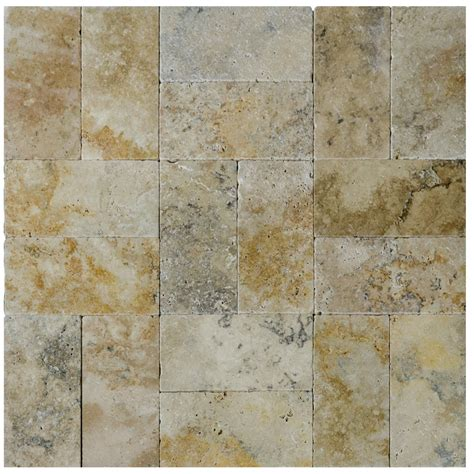 country classic country classic tumbled travertine pavers 6 215 12 atlantic stone source