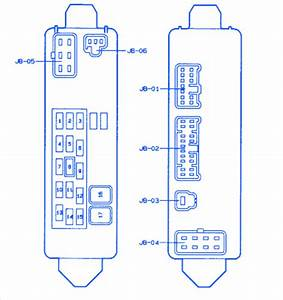 Mazda Protege 1999 Fuse Box  Block Circuit Breaker Diagram