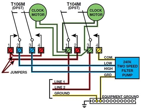 Spa Dpdt Relay Wiring Diagram by 2 Speed Wiring