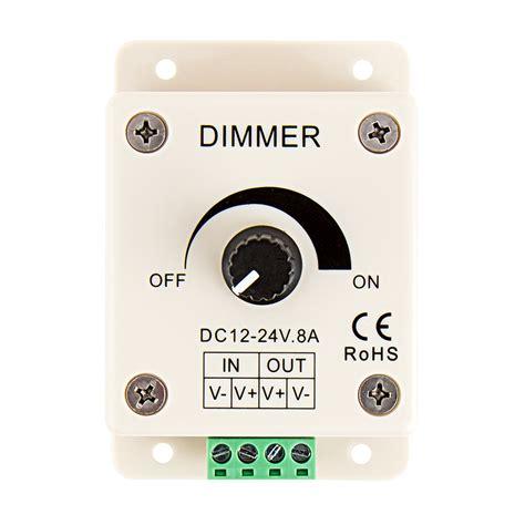 Mit Dimmer by Ldk 8a 12 24 Volt Dc Single Color Led Dimmer Single
