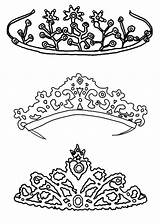 Coloring Crown Princess Pages Drawing Royal Tiara Queen King Type Printable Crowns Colouring Sketch Pretty Print Netart Jewels Template Getdrawings sketch template