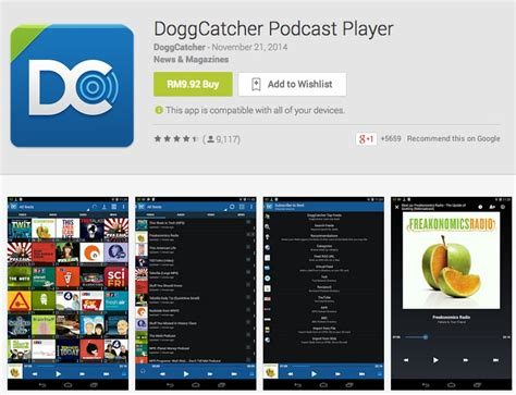 best android podcast app 5 best podcast apps for android hongkiat