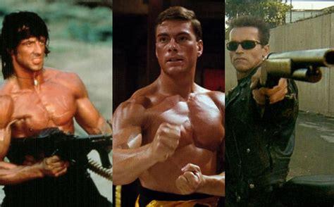 action heroes movies hero actors schwarzenegger gone last arnold stallone nerd