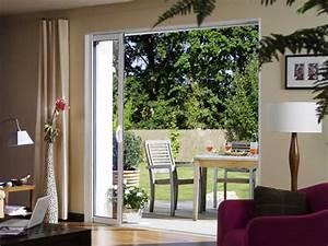 Baie Vitrée Sur Mesure : dimension baie vitree ~ Edinachiropracticcenter.com Idées de Décoration