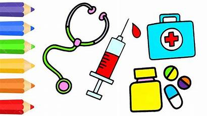 Doctor Kit Clipart Doctors Drawing Draw Medical