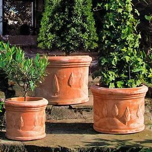 Terracotta Töpfe Obi : terracotta t pfe toskana 3er set rund online kaufen bei g rtner p tschke ~ Orissabook.com Haus und Dekorationen