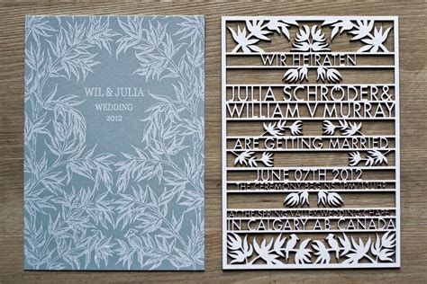 Laser Cut Wedding Invitations Business Card Is Spanish Die Cut Illustrator With Photoshop Visiting In Adobe 7.0 Como Hacer Una En Email Cards Glossy Effect How Can I Make A