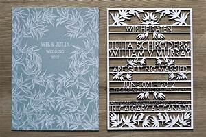 laser cut wedding invitations invitation with high tech With laser cut wedding invitations au