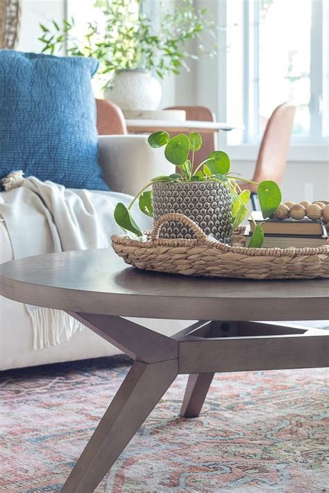 Fresh & modern beach house decorating ideas overstock coastal coffee roasting small coastal coffee table. Round Coffee Table and Weekend Sales | Round coffee table, Family room decorating, Lake house ...