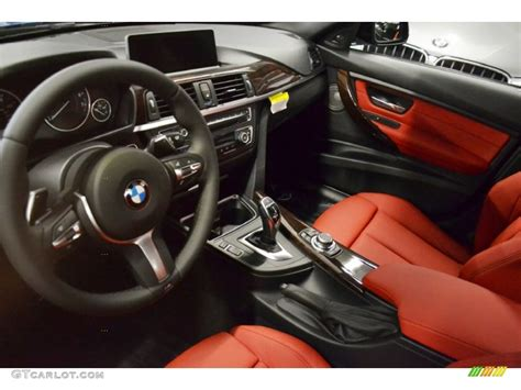 bmw red interior coral red black interior 2013 bmw 3 series 328i sedan