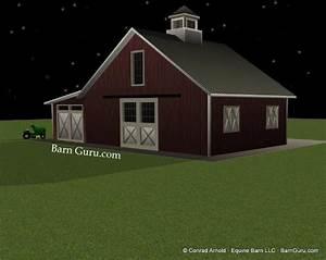 barn plans 3 stall design floor plan With build a barn llc
