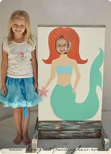 Beachy Mermaid Party Beach Party Mermaid Themed Party