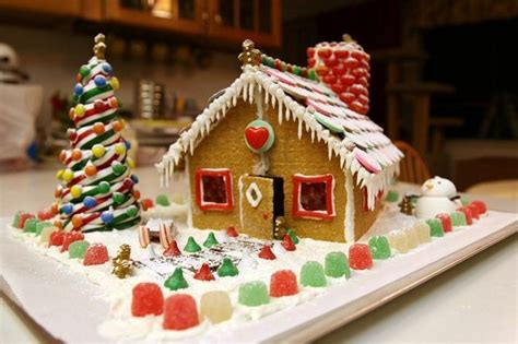 christmas gingerbread house step  step
