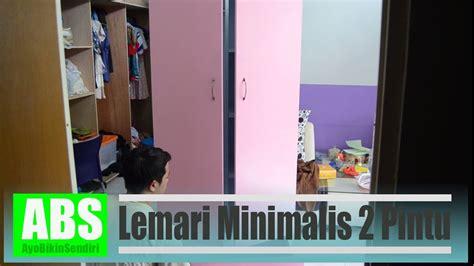 membuat lemari minimalis  pintu youtube