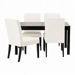 Table 12 Personnes Ikea : bjursta henriksdal table et 4 chaises ikea table manger avec deux rallonges pour 4 8 ~ Nature-et-papiers.com Idées de Décoration