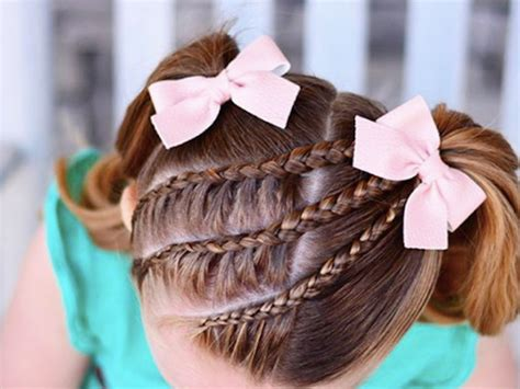 girl hairstyles thatll steal  show  summer