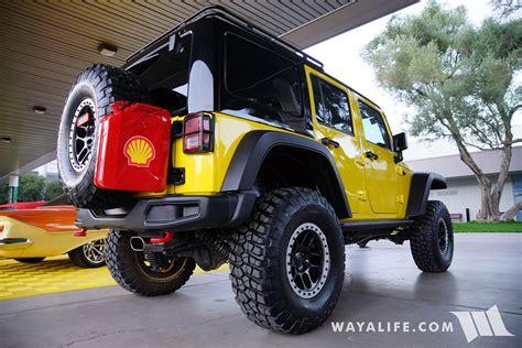 sema jeep 2016 2016 sema shell jeep jk wrangler unlimited