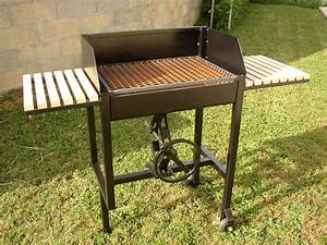 barbecue fait maison en fer systembaseco With barbecue fait maison en fer