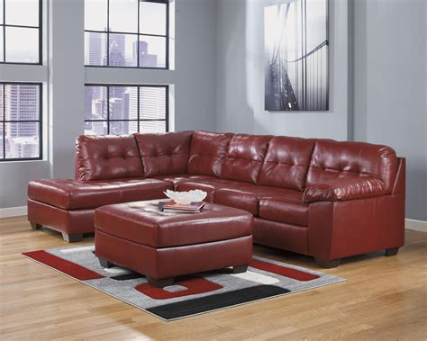 red sectional sofa ashley furniture 20 top ashley furniture leather sectional sofas sofa ideas
