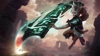 Riven League Legends Wallpapers Championship Animated 4k