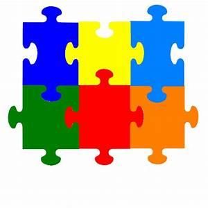 Jigsaw Puzzle 6 Pieces Clip Art - Vector Clip Art Online ...
