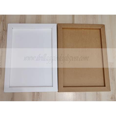cornice in cartone vendita cornice in cartone 68 x 48 x 3 5 avana o