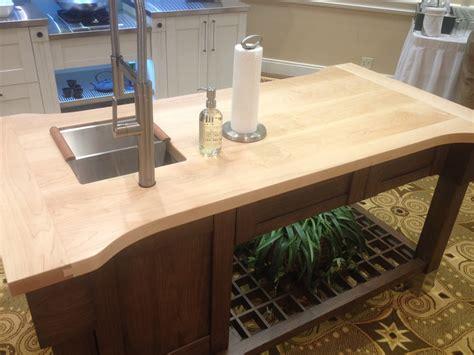 mahogany kitchen island maple wood countertop butcher block countertop bar top