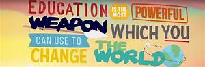 Education Is The Most Powerful Weapon Poster : education charity projects in africa mellon educate ~ Markanthonyermac.com Haus und Dekorationen
