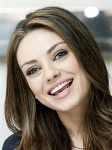 Mila Kunis Beautiful Smile