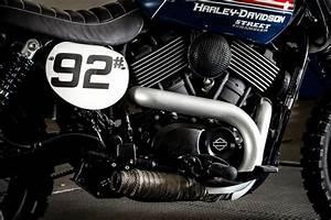 Racing Caf U00e8  Harley Street 750 By Roadstar 92