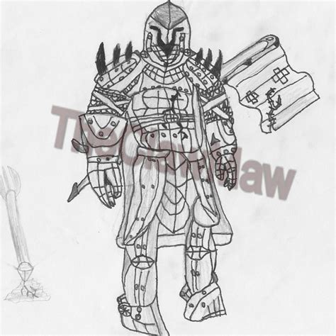 medieval knight drawing minecraft blog