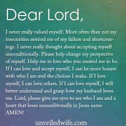 Love Myself Prayer
