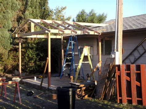 How To Build Covered Porch by How To Build Your Own Covered Deck Dengarden