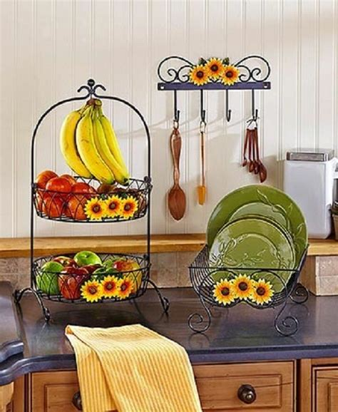 kitchen decor collections sunflower country kitchen decor collection iron farmhouse