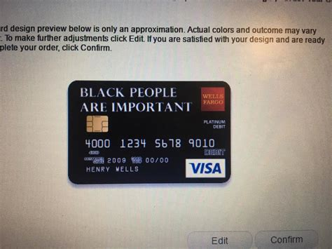 well fargo card design fargo rejects black lives matter debit card design