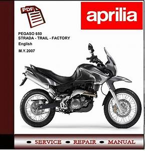 Aprilia Pegaso 650 Strada Trail Factory Workshop Manual