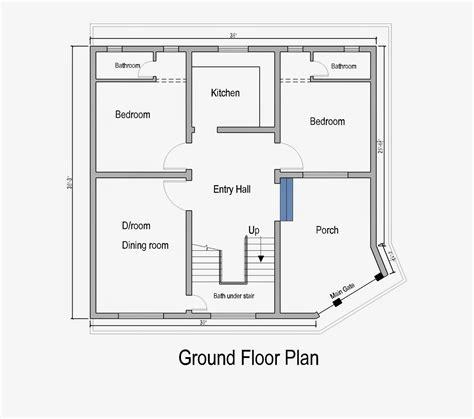 ground floor plan home plans in pakistan home decor architect designer