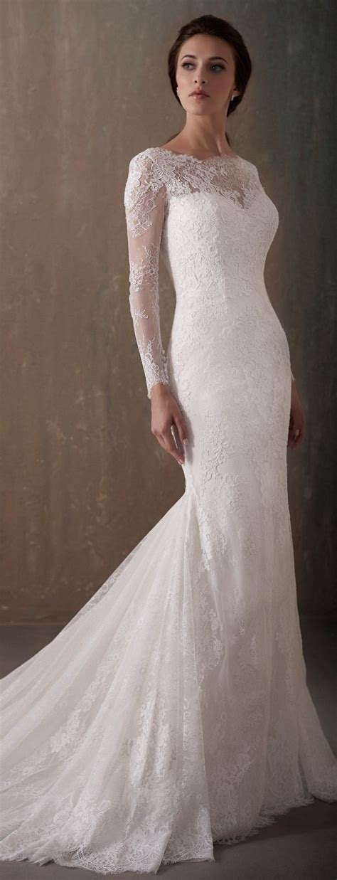 Only Best 25 Ideas About Fitted Wedding Dresses On