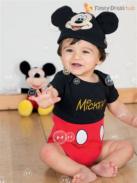 Baby Toddler Deluxe Mickey Mouse Costume Boys Disney Fancy Dress Jersey Outfit   eBay