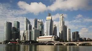 SINGAPORE - CIRCA MAY 2011: City Skyline, View Across ...