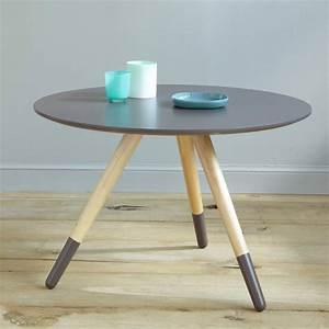 Table Basse 3 Pieds : table basse design new pins 3 suisses ~ Teatrodelosmanantiales.com Idées de Décoration