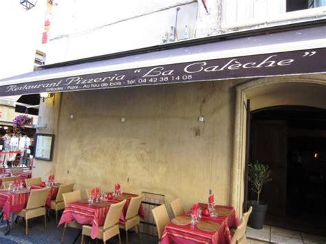 restaurant pates aix en provence la caleche restaurant 224 aix en provence