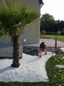 Cailloux Blanc Pas Cher : id e massif avec caillou blanc jardin zen pinterest ~ Dailycaller-alerts.com Idées de Décoration