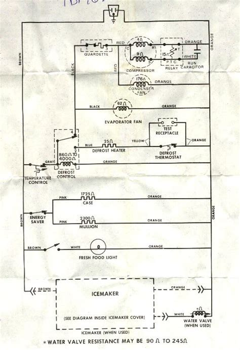 Gibson Freezer Wire Diagram by Need Wiring Schematic For Tbf16sbf