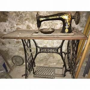 Ancienne Machine A Coudre : machine a coudre ancienne a p dale singer pas cher ~ Melissatoandfro.com Idées de Décoration