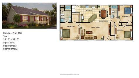 modular home ranch plan 388 2