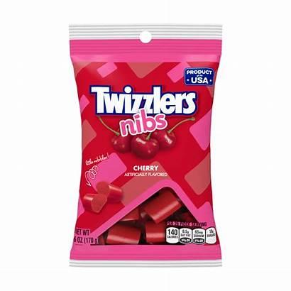 Nibs Twizzlers Licorice Candy Cherry Oz 6oz