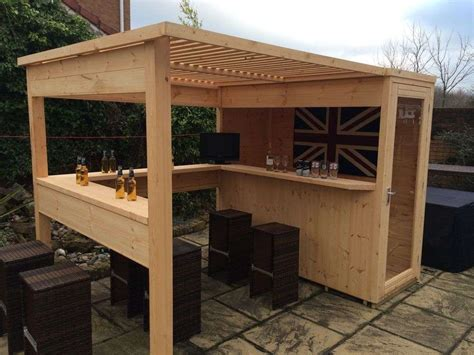 diy outdoor bar ideas  decoratoo