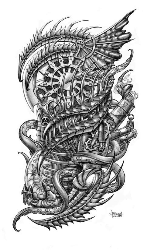 Kronos by Loren86 on deviantART | FOR TATTOO | Pinterest | Design, Sleeve and Heavens
