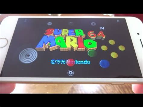 n64 emulator iphone install nintendo 64 emulator on ios 9 10 no